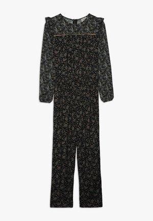 COMBI PRINTED - Jumpsuit - black