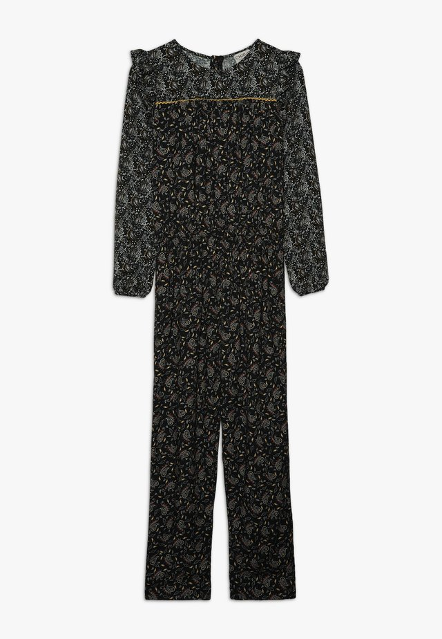 COMBI PRINTED - Tuta jumpsuit - black