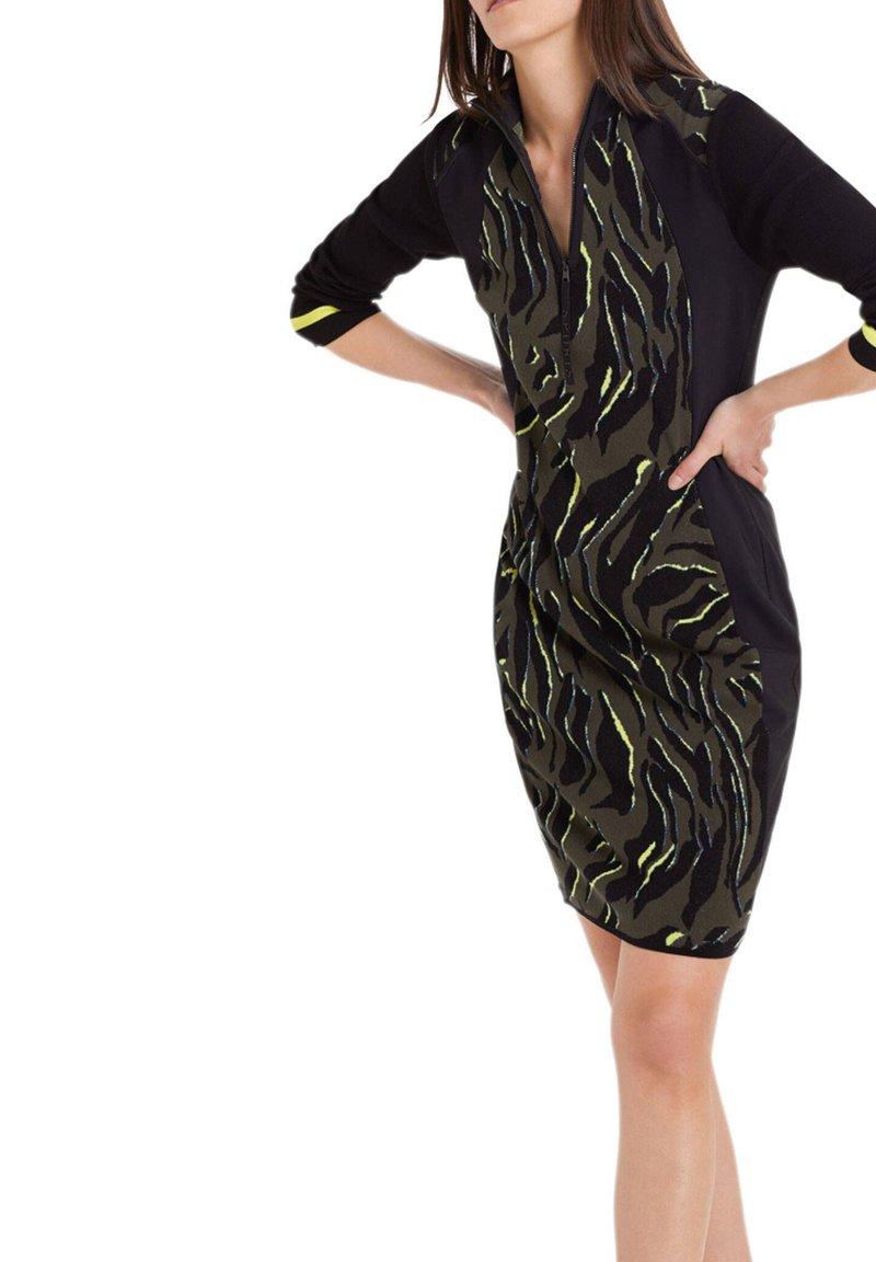 Marc Cain - Jumper dress - schwarz