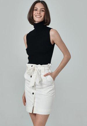 LAS VEGAS - Mini skirt - white