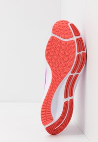 Nike Performance - AIR ZOOM PEGASUS 37 - Neutral running shoes - fire pink/white/team orange/magic ember - 4