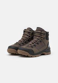 Jack Wolfskin - ASPEN TEXAPORE MID  - Winter boots - coconut brown/black - 1