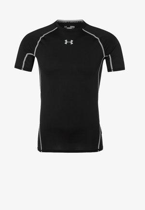 T-shirt imprimé - schwarz/grau