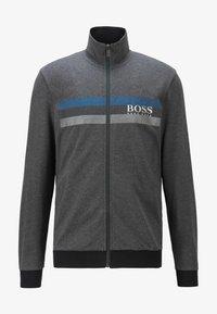 BOSS - AUTHENTIC - veste en sweat zippée - dark grey - 4