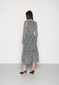 Fabienne Chapot - NATASJA FRILL DRESS - Day dress - black/emerald - 2