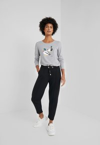 Barbour - BRECON TEE - Long sleeved top - light grey marl - 1