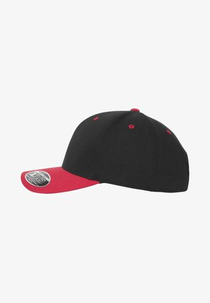 Cap - black/red