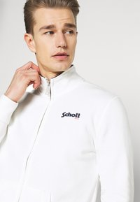 Schott - Zip-up sweatshirt - off white - 5
