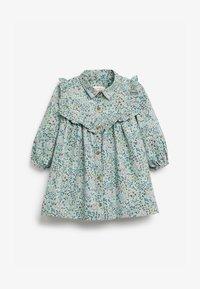Next - Shirt dress - blue - 0