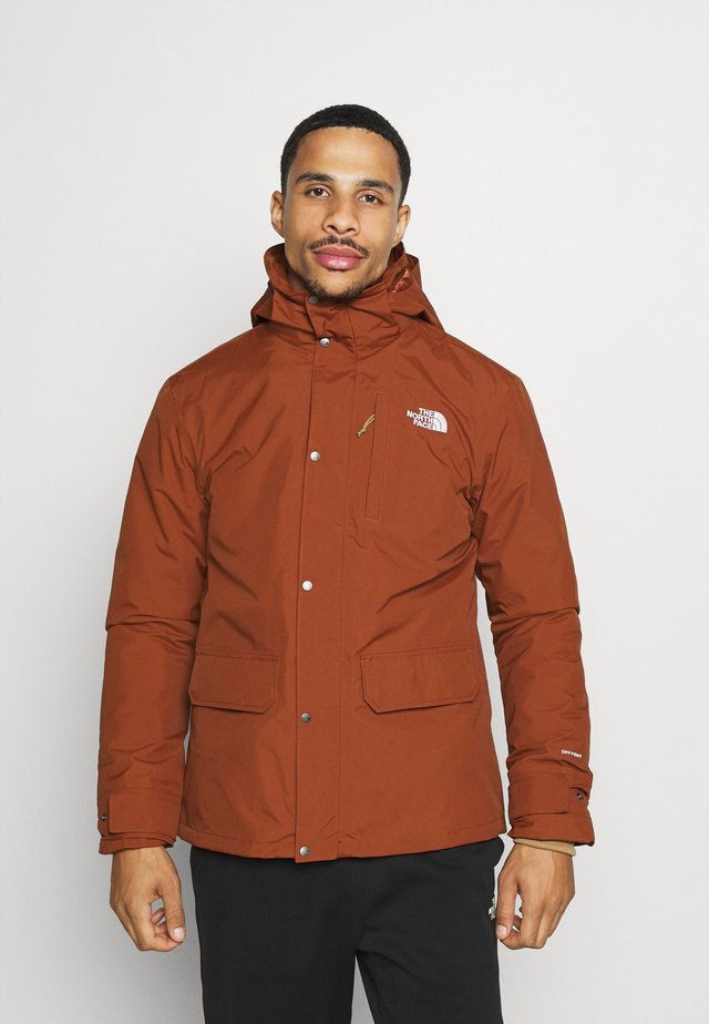 PINECROFT TRICLIMATE JACKET 2-in-1 - Hardshell jacket - brown
