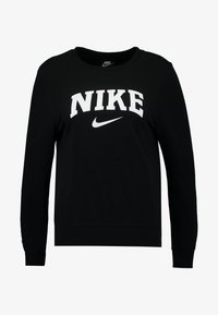Nike Sportswear - CREW - Sweatshirts - black/white - 4