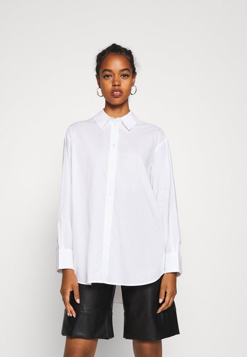 Weekday - EDYN - Button-down blouse - white