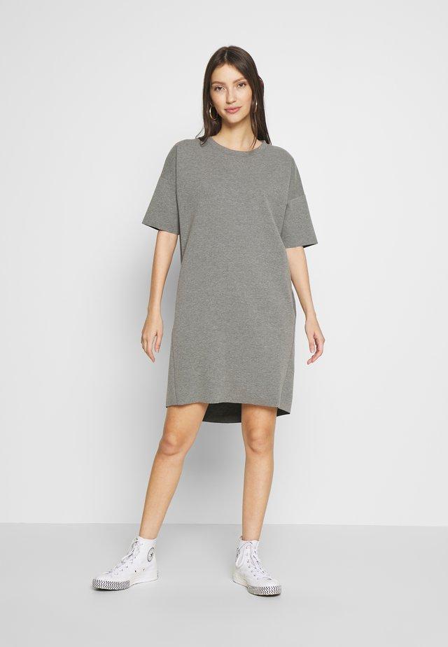 REGITZA DRESS - Jersey dress - dark grey mel