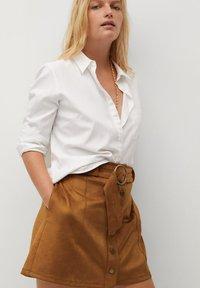 Violeta by Mango - SEVEN - A-line skirt - schokolade - 3