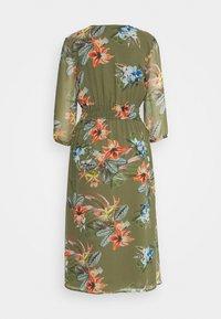 More & More - DRESS LONG - Day dress - new khaki/multicolor - 1
