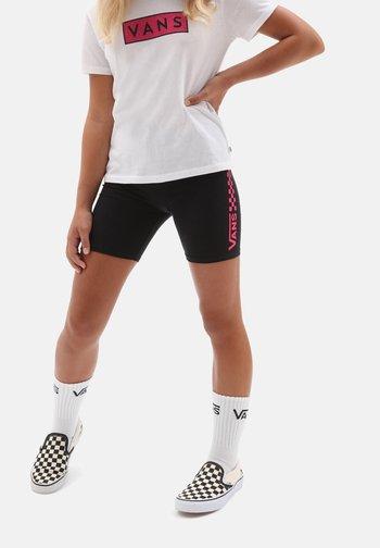 GR CHALKBOARD II LEGGING SHORT GIRLS - Short - black