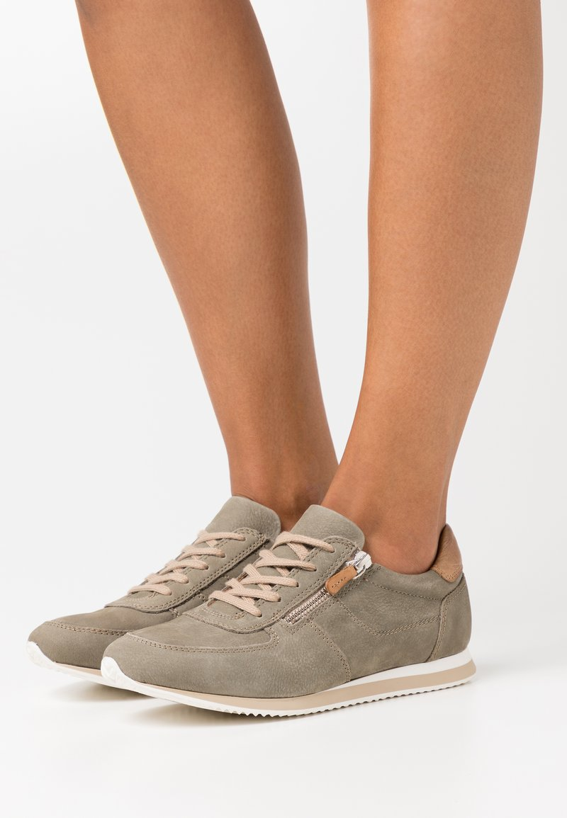 Anna Field - LEATHER - Trainers - green