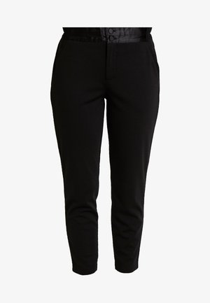 NANNI SHINE - Trousers - black