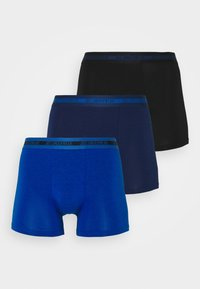 TIGHTS BAMBOO 3 PACK - Pants - blau