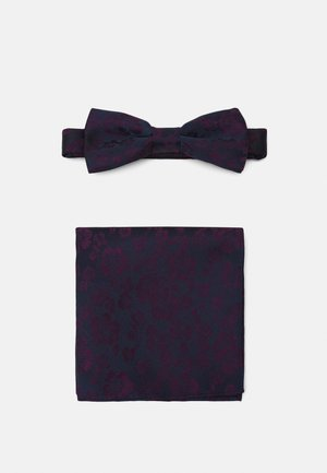 ONSTIMOTHY PATTERN BOWTIE SET - Kapesník do obleku - dark navy/purple