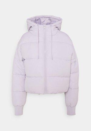 Winter jacket - lilac purple dusty light