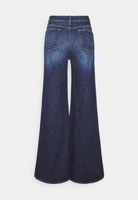 Frame Denim - LE PALAZZO PANT - Flared-farkut - dark blue - 1