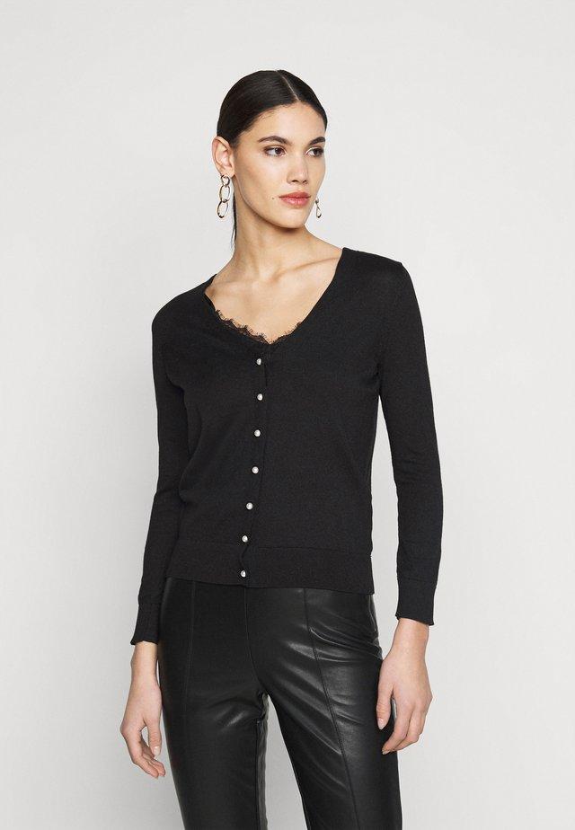 FINE GUAGE  - Vest - black
