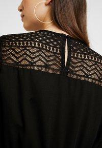 ONLY - ONLDEMI SHORT DRESS - Robe d'été - black - 5