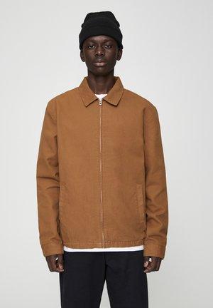 JACKE MIT STRUKTURMUSTER UND REISSVERSCHLUSS 05713533 - Summer jacket - brown