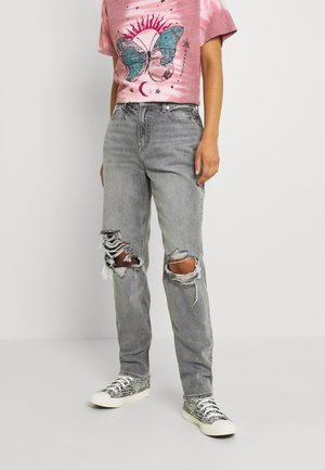Jeans straight leg - stone gray