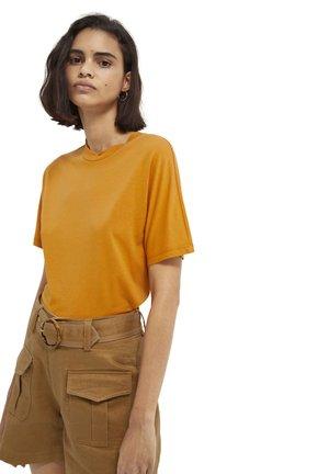 Basic T-shirt - sunset orange
