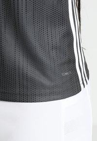 adidas Performance - TIRO 19 CLIMALITE PRIMEGREEN JERSEY - Camiseta estampada - grey/white - 5