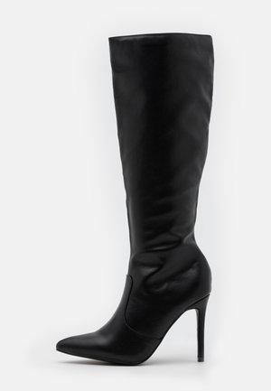 CASH - High heeled boots - black