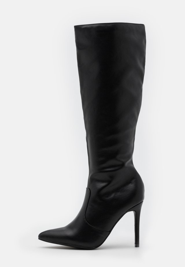 CASH - High heeled boots - black