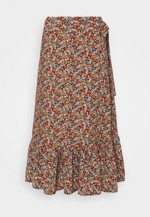 JAYLEE - Wrap skirt - black