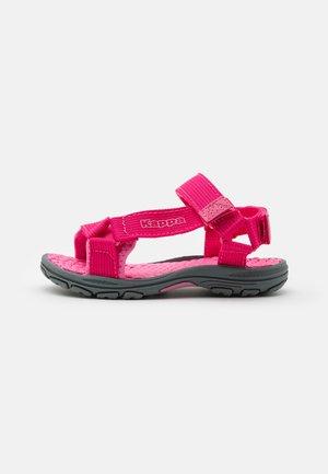 UNISEX - Walking sandals - pink/rosé