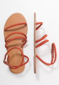 Dorothy Perkins Wide Fit - WIDE FIT TUBULAR  - Sandalias - rust - 3