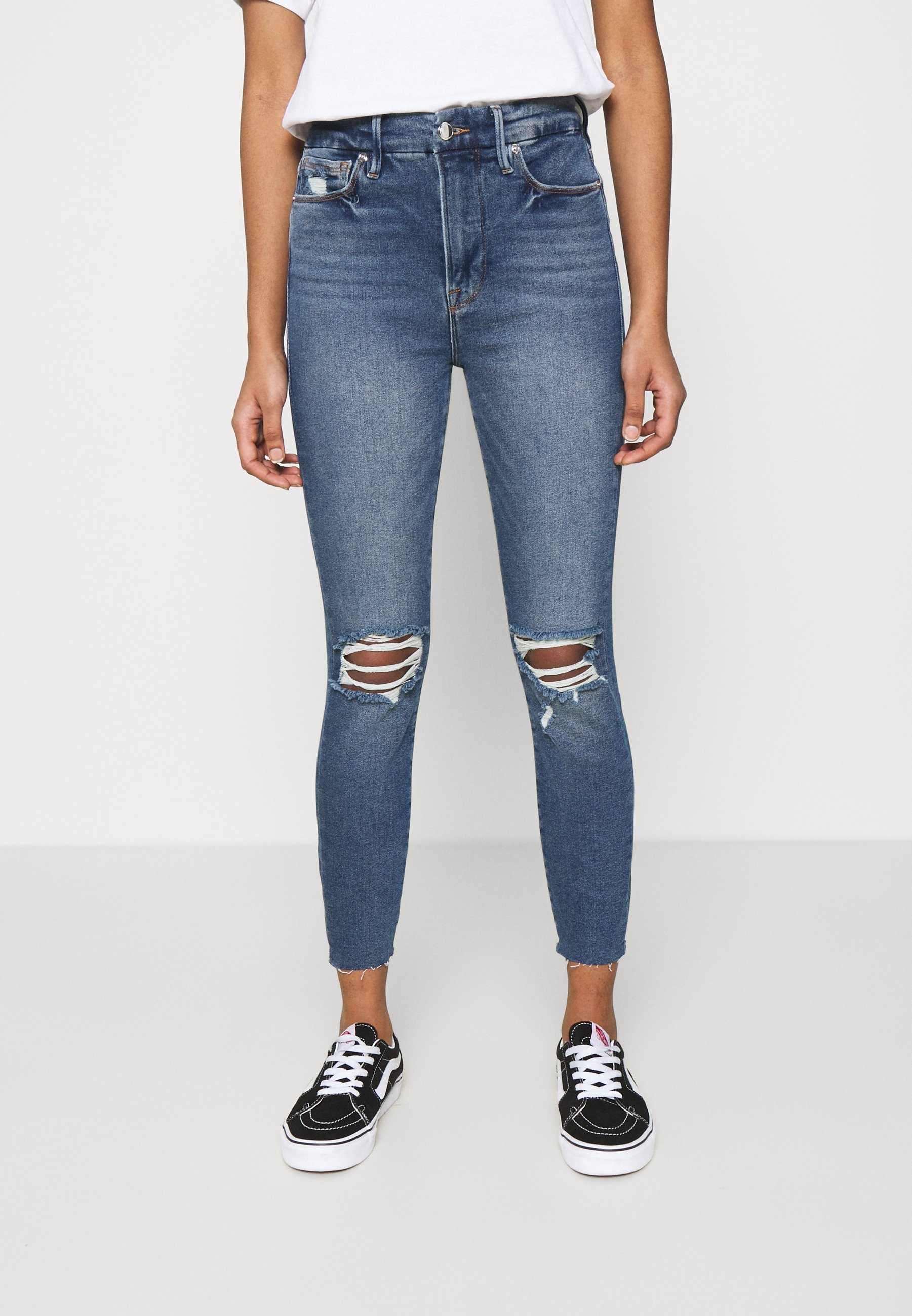 Women WAIST CROP RAW EDGE - Jeans Skinny Fit