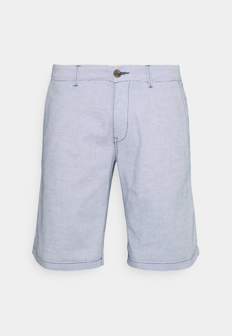 TOM TAILOR DENIM - Shortsit - blue/white