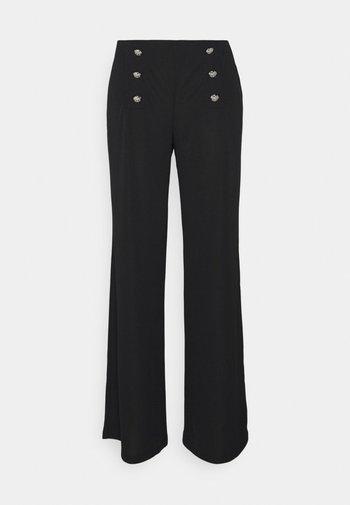 CORYDON STRAIGHT PANT - Kalhoty - black