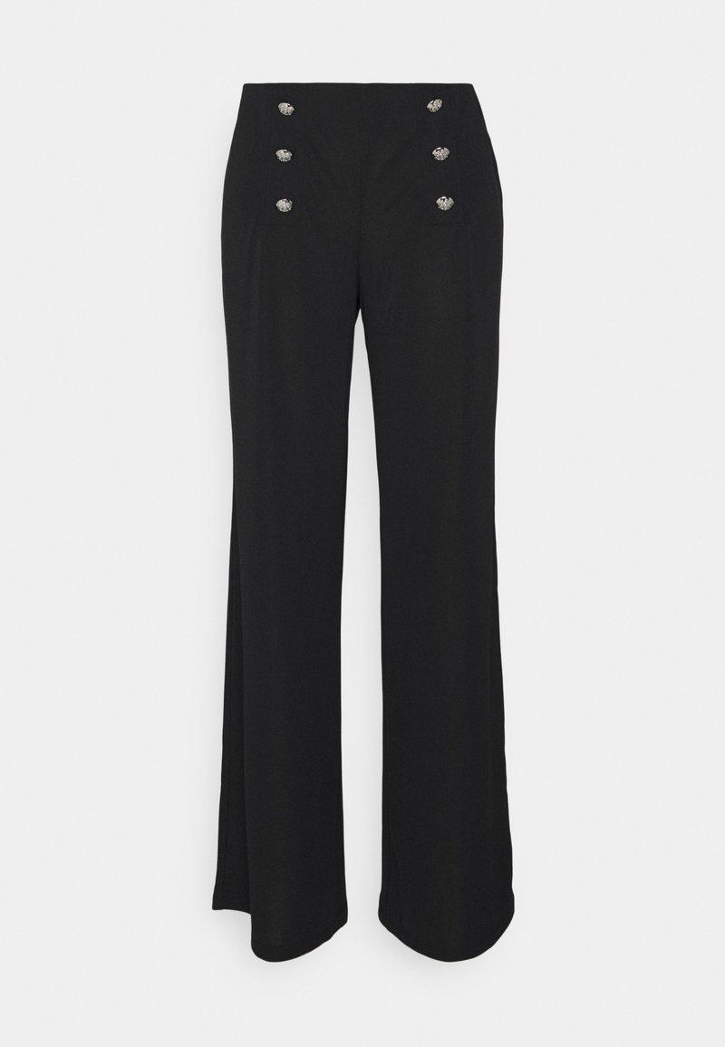 Lauren Ralph Lauren - CORYDON STRAIGHT PANT - Broek - black