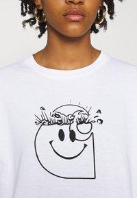 Carhartt WIP - TAB - Long sleeved top - white/black - 4