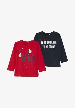 NBNRIJUL 2 PACK - Camiseta de manga larga - jester red