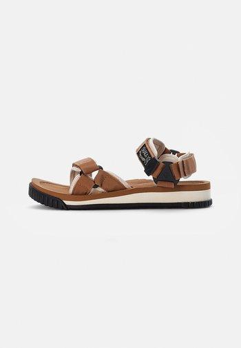 NEO CLIMBING - Sandals - moca/natural