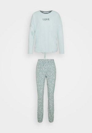 DAILY OPTIMISTE LONG  SET - Pyjamas - mont blue