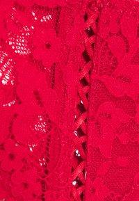 Hunkemöller - LEYLA  - Strømpeholdere - tango red - 6