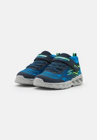 Skechers - MAGNA LIGHTS BOZLER - Trainers - navy/blue/lime - 1