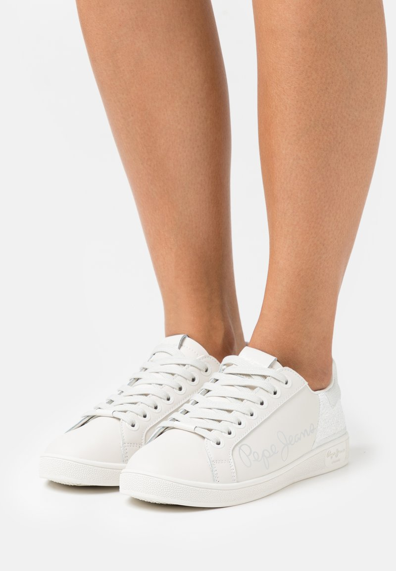 Pepe Jeans - BROMPTON FUN - Trainers - white