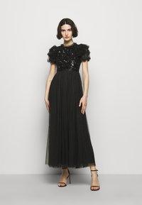 Needle & Thread - SHIRLEY RIBBON BODICE ANKLE DRESS - Společenské šaty - ballet black - 0