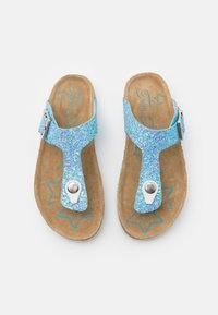 TOM TAILOR - T-bar sandals - blue - 3